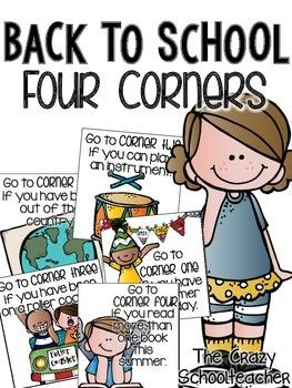 Four Corners {Back to School}