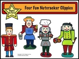 Four Fun Nutcracker Clippies