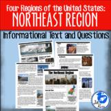Northeast Region Informational Text {Four Regions of the U
