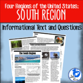 Four Regions of the United States: South Region