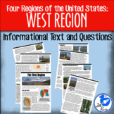 West Region Informational Text {Four Regions of the United