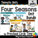 Four Seasons - Centers and Circle Time Units For Preschool