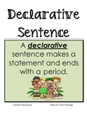 Four Types of Sentences Poster