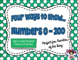 Four Ways to Show... Numbers 0-200