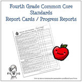 Fourth Grade Common Core Progress Report