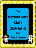 Fourth Grade - Common Core State Standards