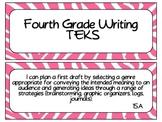 Fourth Grade Writing TEKS~ Pink Zebra