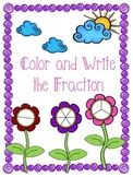 Fraction Color/ Write the Fraction