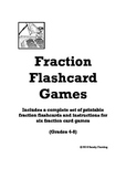 Fraction Flashcard Games