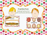 Fraction Fun Centers: Games & More