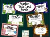 Fraction Task Card Bundle ~ 6 sets included