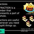 Fraction Unit:  A 5 Day Lesson