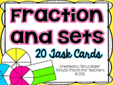 Fraction and Sets Task Cards