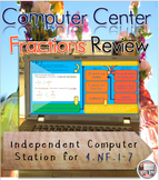 Fractions Math Intervention as an Independent Computer Center