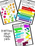 Fractions Super Combo Pack Clip Art