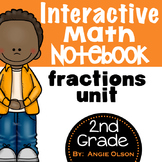 Fractions Unit:  Interactive Notebook Pages