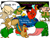 Fractured Fairy Tale Friends Clipart Pack
