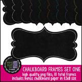 Frames: KG Chalkboard Frames Set One