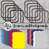 Frames and Backgrounds Set 1