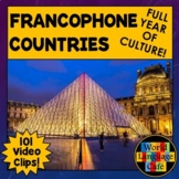 Francophone Countries Bundle for 31 French Speaking Countries