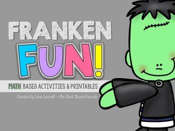 FrankenFUN MATH Activities, Games, & Printables
