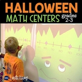 Halloween Number Line Math Centers and More! {Common Core