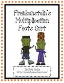 Frankenstein's Math Fact Halloween Game