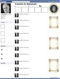 Franklin D Roosevelt FDR Presidential Fakebook Template