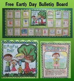 Free Earth Day Bulletin Board