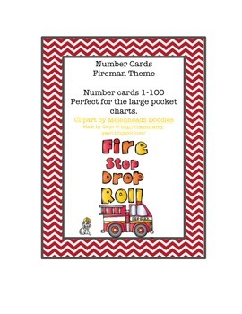 Free Fire Safety Number Cards