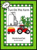 Free Fun Time On The Farm Worksheet Set
