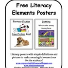 Free Literacy Posters