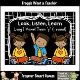 Free Literacy Resource--Look,Listen,Learn Long I Vowel Tea