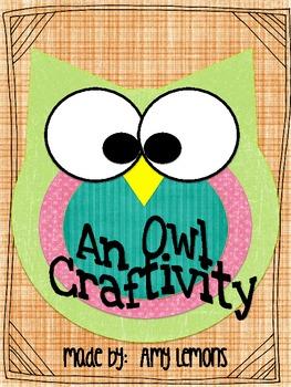 Free Owl Craftivity!