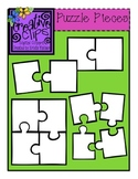 {Free} Puzzle Piece Templates {Creative Clips Digital Clipart}