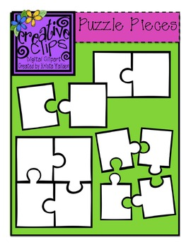 Free puzzle piece clip art by Krista with Ideas by Jivey