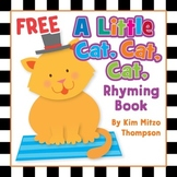 Free Rhyming Book: A Little Cat, Cat, Cat