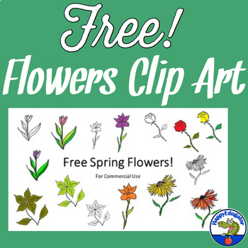 Free Spring Flowers Clip Art