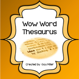 Free Wow Words Mini Thesaurus