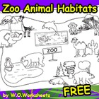 Free Zoo Coloring Page