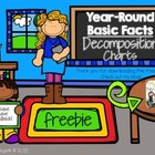 {Freebie} Year-Round Basic Facts Decomposition Charts