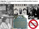 Freedom Summer PowerPoint Presentation