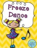 Freeze Dance {FREEBIE}