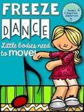 Freeze Dance {Brain Break/ Movement Exploration}