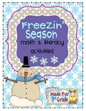 Freezin' Season Math & Literacy Activities