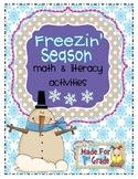 Freezin' Season Math & Literacy Activities