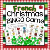 French Christmas Bingo Game