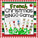 French Christmas Bingo Game