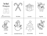 French Christmas Vocabulary Mini-Book