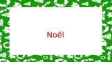 French Christmas Vocabulary / Noel en France